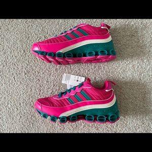 Adidas Originals Microbounce T1 Shock Pink Green